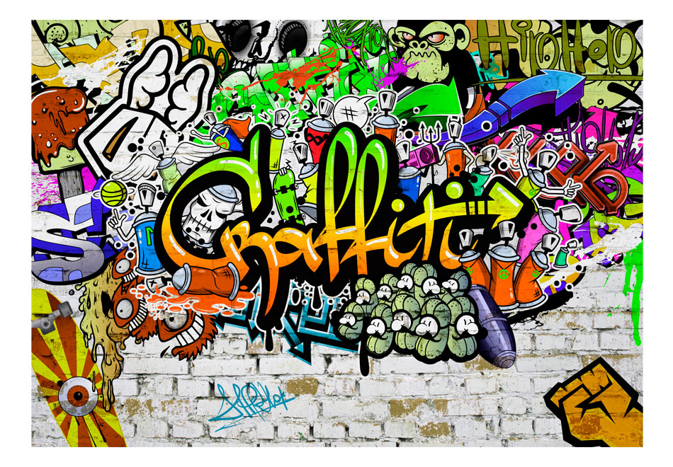 Fototapet - Graffiti on the Wall