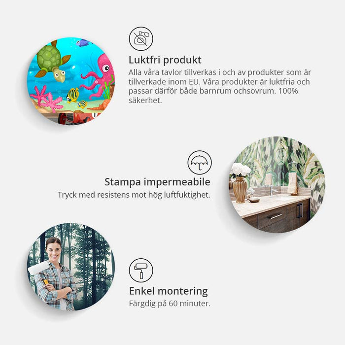 Fototapet - Rose charade