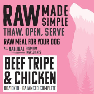 RMS Beef Tripe and Chicken Complete 500g