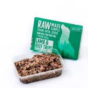 RMS Boneless Lamb & Beef Tripe Mix 500g