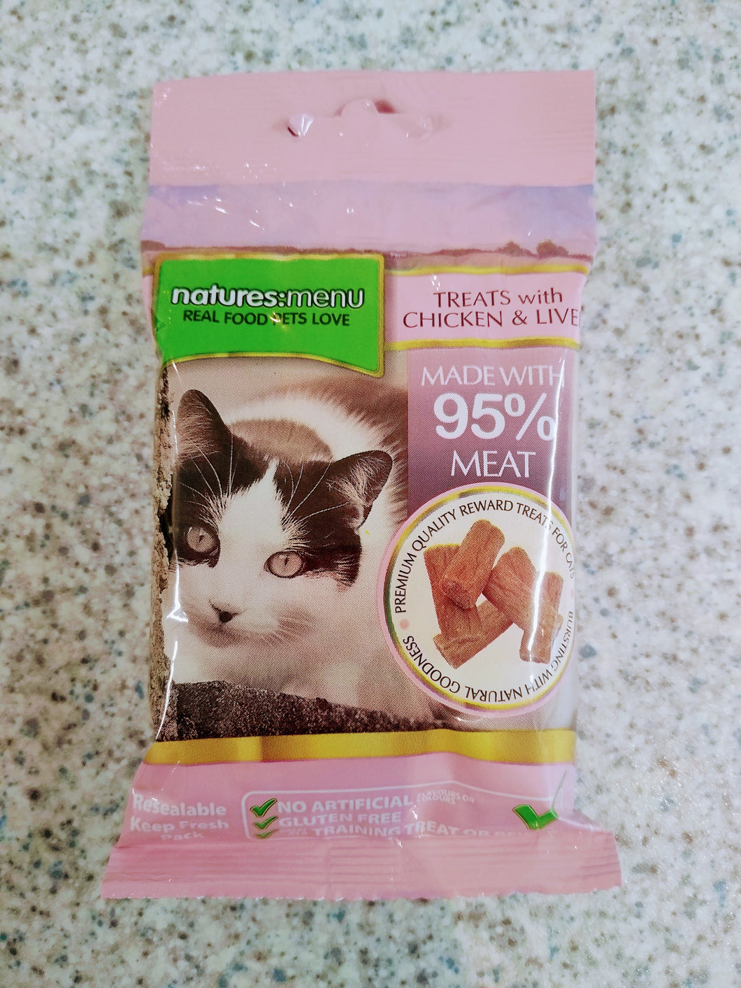 NM Cat Treats Chicken and Liver  x60g