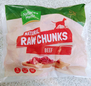 NM Raw Chews Beef Chunks 1kg