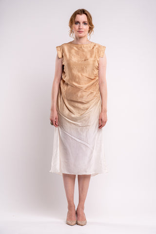 Kanso Coffee Dress - sustainable fashion product