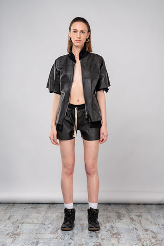 Leather Hot Pants - Afterlife Projects