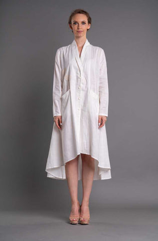 Marie Linen Coat - Afterlife Projects