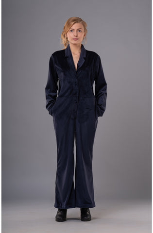 Velvet Jumpsuit - sustainable fashion product