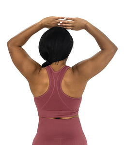 Simplicity Sports Bra - Rouge