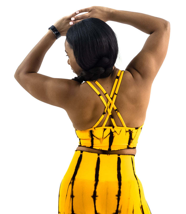Goddess Set - Black/Lemon