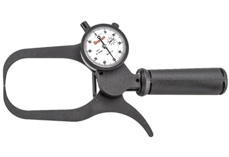 "Starrett 1017-4 Outside Dial Caliper, 0-2"" Range, .001"" Graduation"
