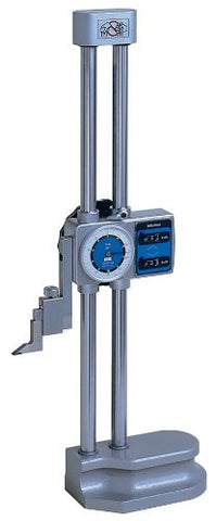 "Mitutoyo 192-150 Dial Height Gage, 0-12"" Range, .001"" Graduation"