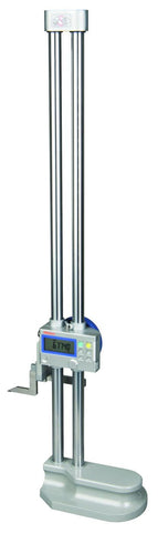 "Mitutoyo 192-672-10 Digimatic Height Gage, 0-24""/0-600mm Range, .0005""/0.01mm Resolution"