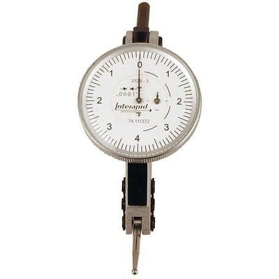 "Brown & Sharpe 74.111372  Interapid 312b-3 Dial Test Indicator, .016"" Range, .0001"" Graduation"