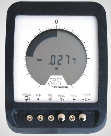 Mahr Federal 2033001 Millimess Maxum III Indicating Display Unit without SPC