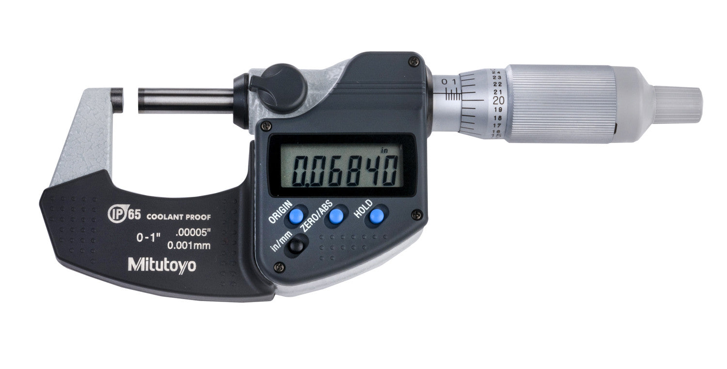"""with Digit Counter 0-1/"""" Range 0.0001/"""".. Mitutoyo 250-312 Micrometer Head New"""