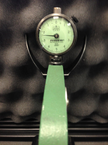 "Mahr Federal 300P-2 Dial Snap Gage with Carbide Anvils, 1-2"" Range, .0001"" Graduation B2I Indicator *USED/RECONDITIONED*"