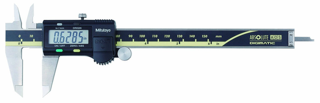 "Mitutoyo 500-171-30 Digimatic Caliper, 0-6""/0-150mm Range, .0005""/0.01mm Resolution"