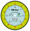 "Mitutoyo 513-409-10E Dial Test Indicator .0075""/0.2mm Range, .0001""/0.002mm Graduation"