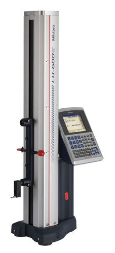 "Mitutoyo 518-352A-21 Linear Height Gage LH-600EG w/ Power Grip, .000001""/0.0001mm-.001""/0.1mm Graduation, 0-24"" Range"