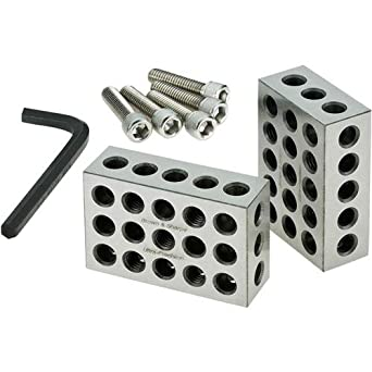 Brown & Sharpe 599-750-10 1-2-3 Positioning Block Set