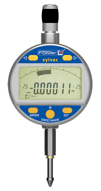 "Fowler 54-530-535-0 Mark VI Electronic Indicator 0-.500""/12.5mm Range .00005""/0.001mm Resolution"