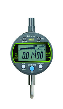 "Mitutoyo 543-302 ABSOLUTE Digimatic Indicator, 0-.5""/ 0-12.7mm Range, .00005/.0001/.0005"" Resolution"