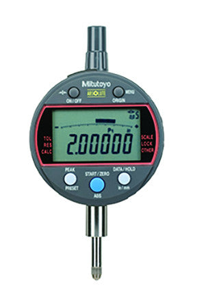 "Mitutoyo 543-342B ABSOLUTE Digimatic Indicator,  0 - .5 ""/0 - 12.7mm Range, .00001""/0.0002mm - .05""/1mm Resolution"