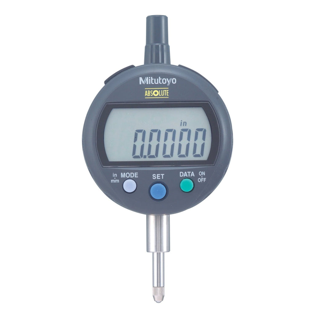 "Mitutoyo 543-402 Digimatic Indicator, .5""/12.7mm Range, .0005""/0.01mm Resolution"