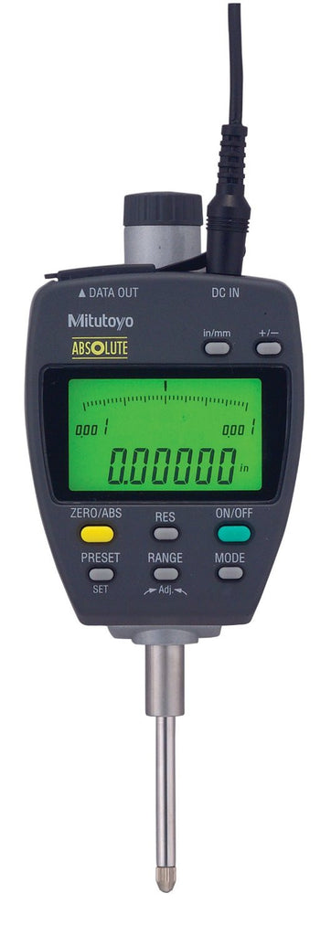 "Mitutoyo 543-552A ABSOLUTE Digimatic Indicator, 0-1""/0-25mm Range, .0005""/0.01mm Resolution"