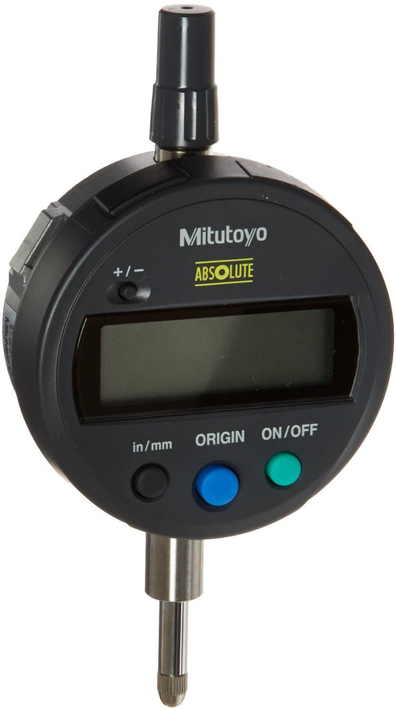 "Mitutoyo 543-792 ABSOLUTE Digimatic Indicator, 0-.5""/0-12.7mm Range, .0005""/0.01mm Resolution"