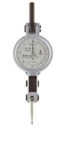"Brown & Sharpe 74.111373 Interapid 312b-4 Dial Test Indicator, .016"" Range, .0001"" Graduation"