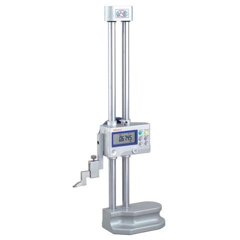 "Mitutoyo 192-630-10 Digimatic Height Gage, 0-12""/0-300mm Range, .0005/0.01mm Resolution"
