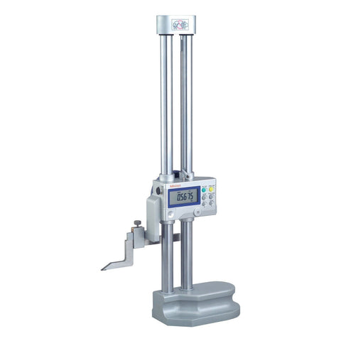 "Mitutoyo 192-671-10 Digimatic Height Gage, 0-18""/0-450mm Range, .0005""/0.01mm Resolution"