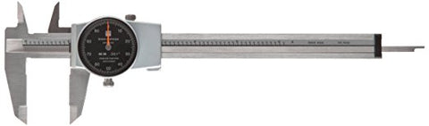 "Brown & Sharpe 599-579-5 Dial Caliper, 0-6"" Range, .001"" Graduation"