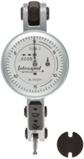 "Brown & Sharpe 74.111374 Interapid 312B-20 Dial Test Indicator, .060"" Range, .001"" Graduation"