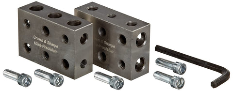 Brown & Sharpe 599-750-50 Universal 1-2-3 Blocks Set