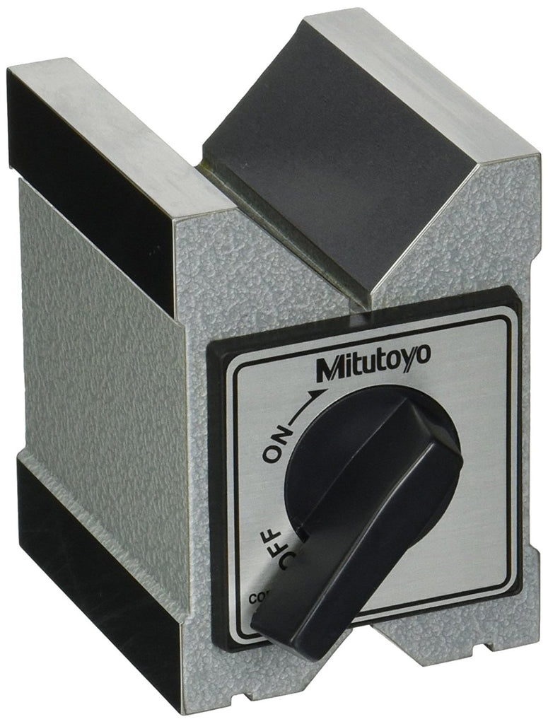 Mitutoyo 181-146 Maximum Workpiece Diameter Magnetic V-Block, 2""