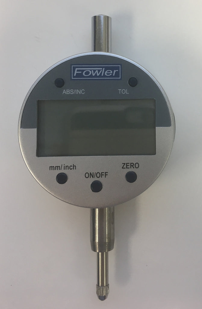 "Fowler 54-520-255-0 Indi-X Blue Electronic Indicator, 0-.5""/0-12.5mm, .0005""/0.01mm Resolution *DEMO*"