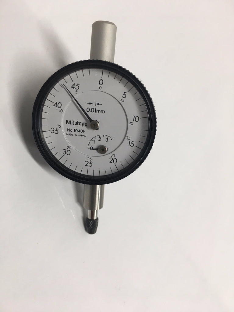 Mitutoyo 1040F Dial Indicator, 0-3.5mm Range, 0.01mm Graduation *New-Open Box