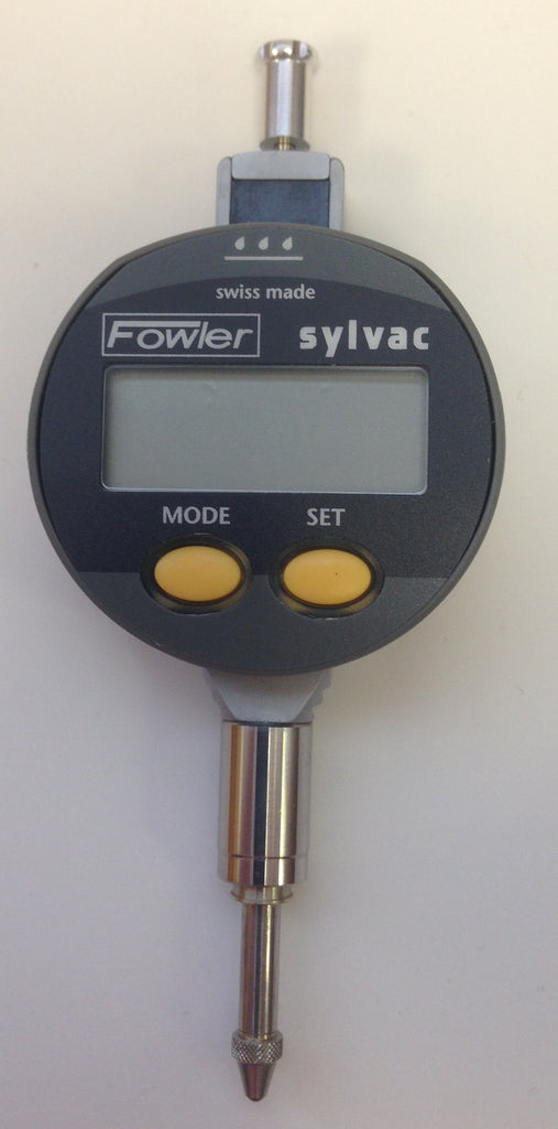 "Fowler 54-520-680 Sylvac Mini-Resistant IP65 Electronic Indicator, 0-.500""/12.5mm Range, .0005″/0.01mm Resolution *CLOSEOUT*"
