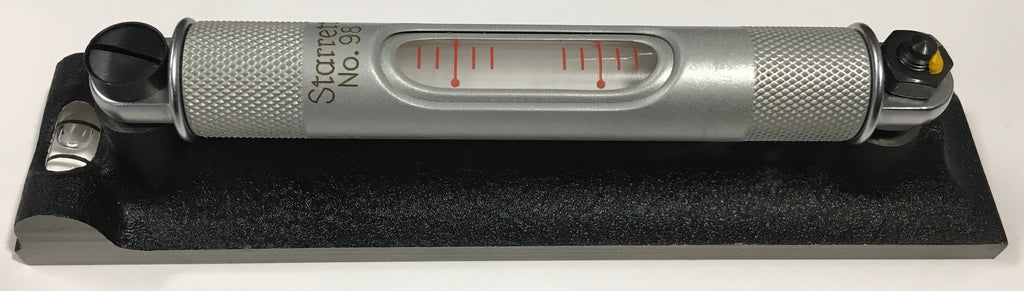"Starrett 98-6 Machinists' Level with Ground and Graduated Vial, 6"" Length *USED/RECONDITIONED*"