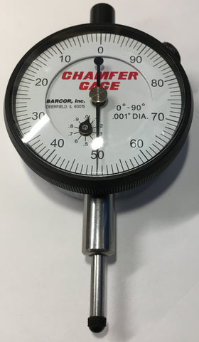 "Barcor 10910-B Dial Indicator for Chamfer Gage, 0-1"" Range, .001"" Graduation *DEMO*"
