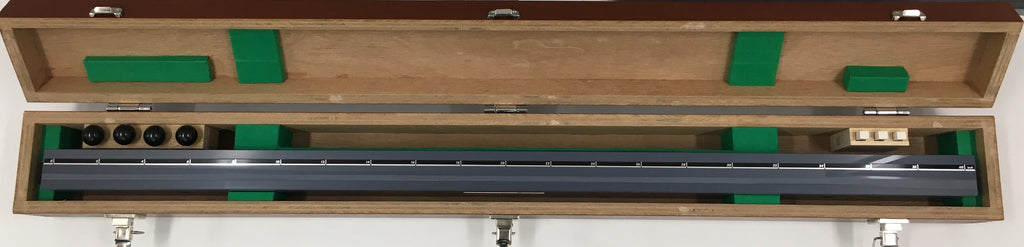 "Mitutoyo 311-327-33 High Accuracy Ceramic Straight Master, 40"" Nominal Length, 1.0µm Straightness *New-Open Box Item"