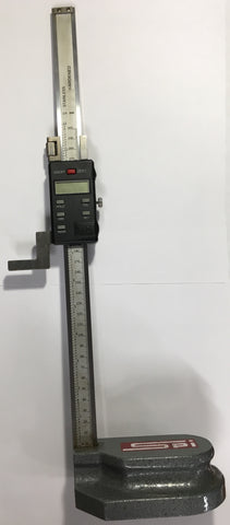 "SPI Electronic Height Gage, 0-12""/0-300mm Range, .0005""/0.01mm Resolution  *USED/RECONDITIONED*"