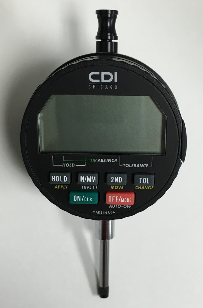 "CDI Q4110 Logic IQ Electronic Indicator , 0-1.0"" Range, .0005""/0.01mm Resolution *DEMO*"