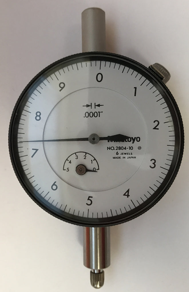 "Mitutoyo 2804-10 Dial Indicator, 0-.05"" Range, .001"" Graduation *New - Open Box Item"