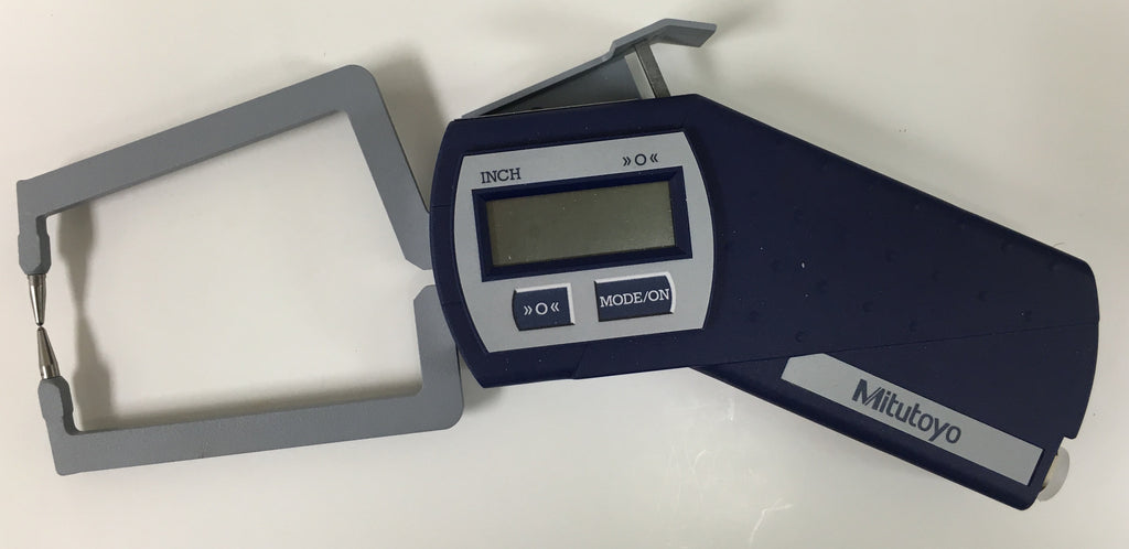 "Mitutoyo 209-837 Digi-Test Digimatic Caliper Gage, .012-.984""/0.3-25mm Range, .0005""/0.01mm Resolution *New - Open Box Item"