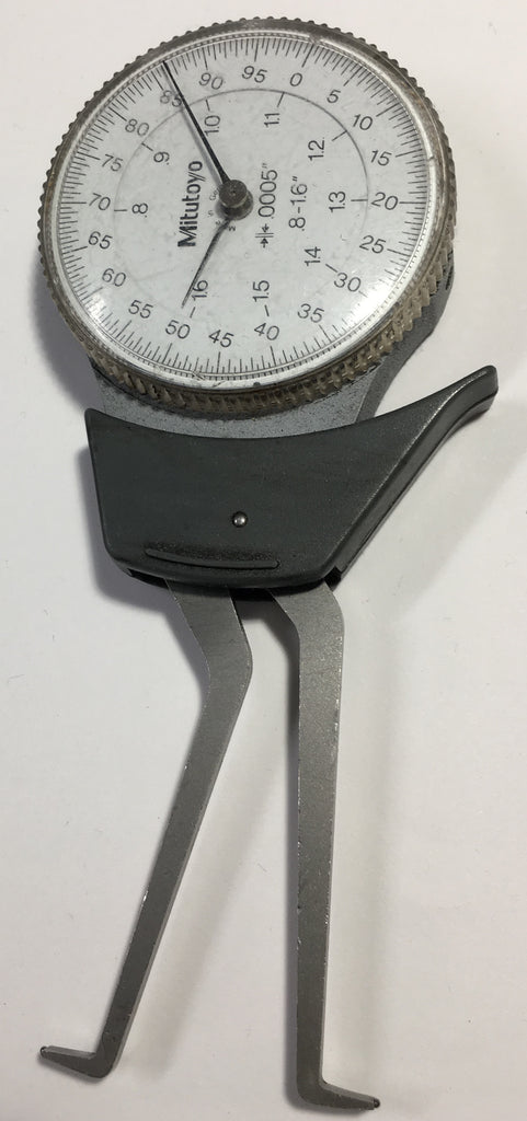 "Mitutoyo 209-703 Dial Caliper Gage Internal Type, .8-1.6"" Range, .0005""Graduation *USED/RECONDITIONED*"