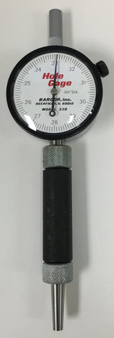 "Barcor 330 Dial Hole Gage, .230-.330"" Range, .001"" Graduation *USED/RECONDITIONED*"