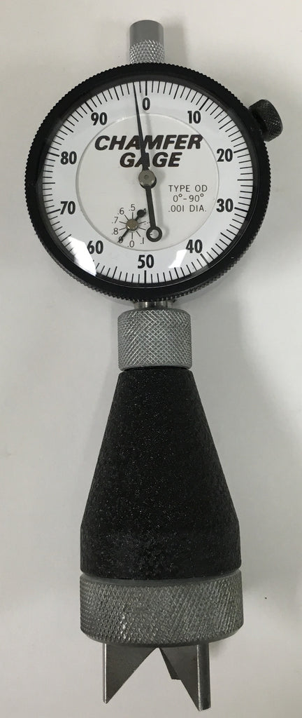 "Chamfer-Chek Outside Dial Gage, 0-1"" Range, 0-90 Degree, .001"" Graduation *USED/RECONDITIONED*"