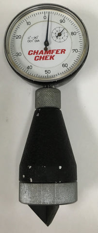 "Brencor Internal Dial Chamfer-Chek Gage, 0-1"" Range, 0-90 Degree, .001"" Graduation *USED/RECONDITIONED*"